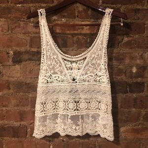 Urban Outfitters Crochet Top